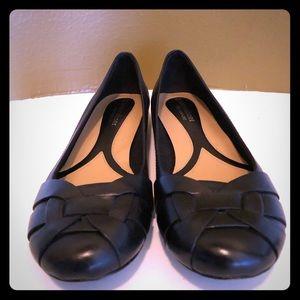 Naturalizer N5 Black Comfort Flats